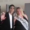 Avec Miss Ronde France