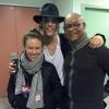 Avec Mario Ramsamy et sa compagne