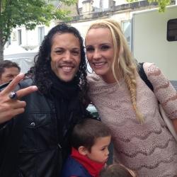 Avec Elodie Gossuin