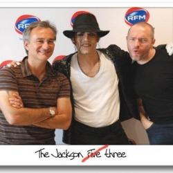 Avec Laurent Petit Guillaume et Stéfan Caza