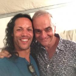 Avec Jean-Pierre Mader